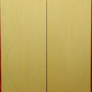AAA Non-figured Archtop plank cut