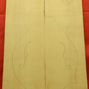 plank-cut mandolin